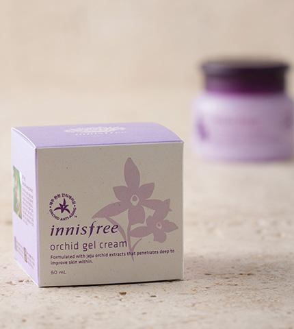 innisfree orchid gel cream-3