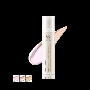 CC cream, Innisfree Real Skin Color Control Cream, kem nền, kem nền innisfree, kem nền trang điểm