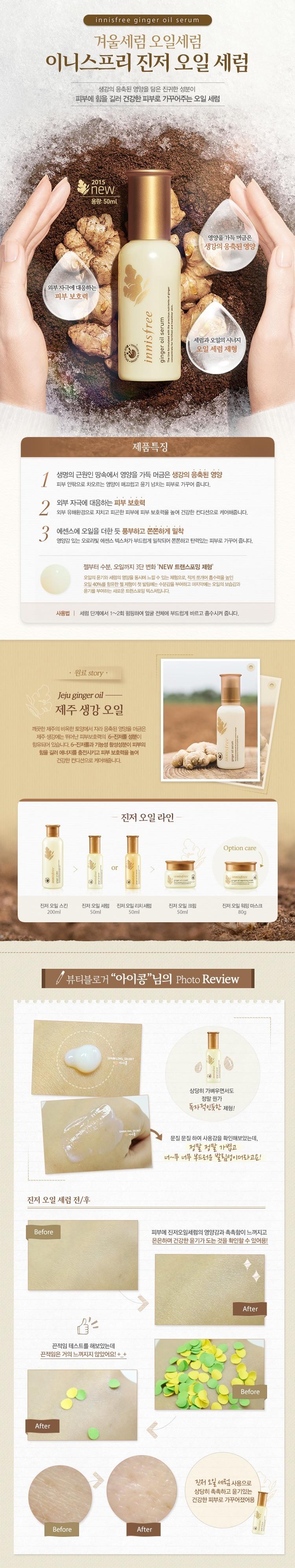 ginger oil skin