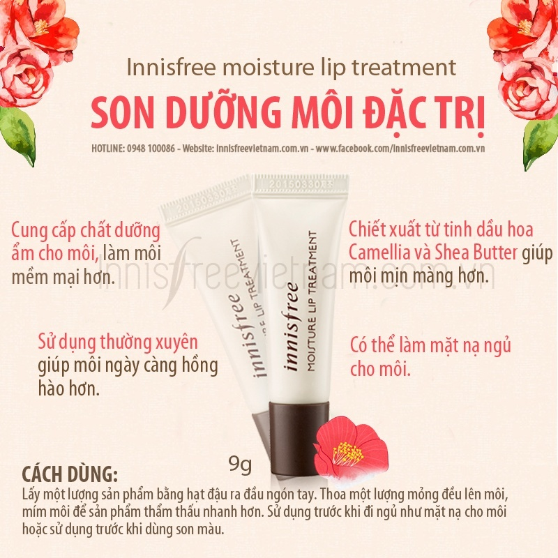 Innisfree Moisture Lip Treament-7