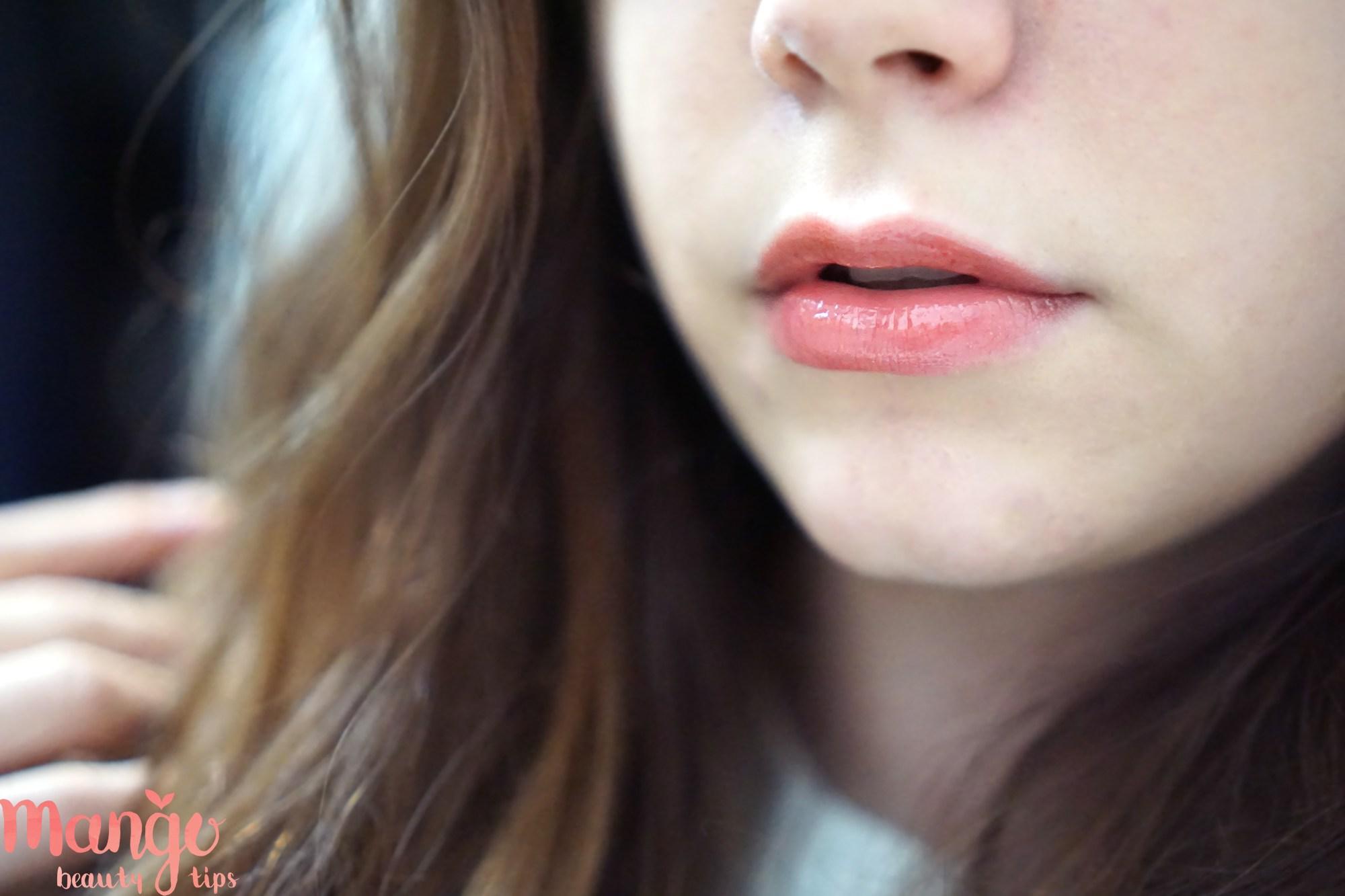 innisfree treament lip tint- orange