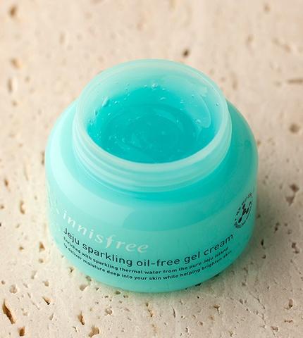 innisfree Jeju sparkling oil-free gel cream-3