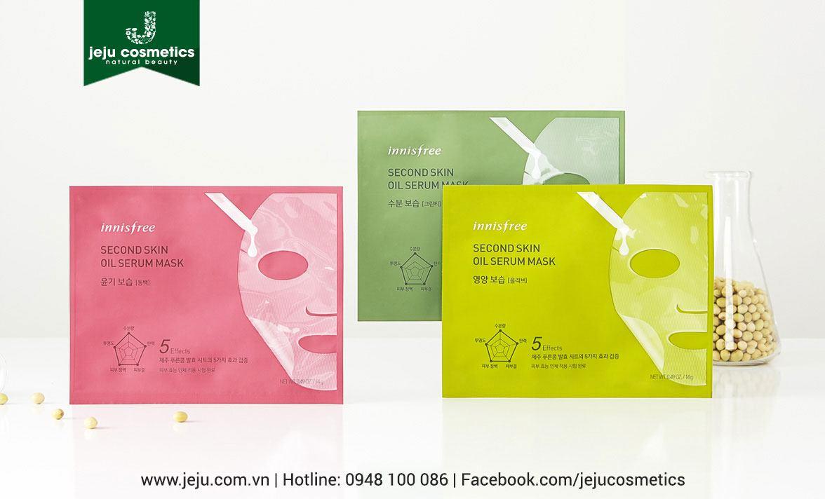 Innisfree Second Skin Oil Serum Mask