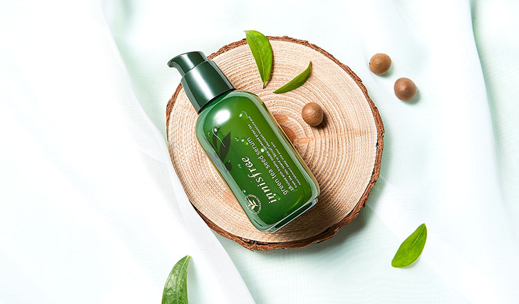 how to use innisfree green tea seed serum