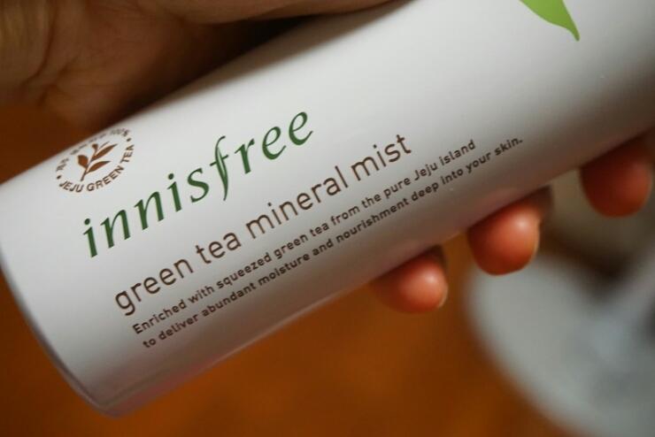 INNISFREE GREEN TEA MINERAL MIST-1