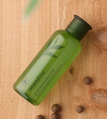 innisfree green tea moisture skin-2