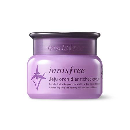 Kết quả hình ảnh cho Jeju Orchid Enriched Cream
