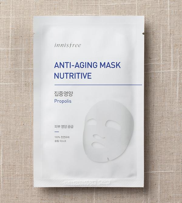 Mặt nạ Innisfree Anti Aging Mask - Nutritive - Jeju Cosmetics
