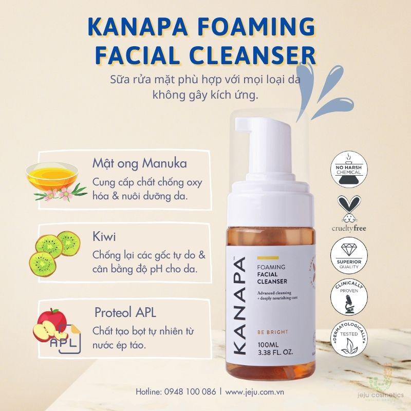 Kanapa Foaming Facial Cleanser